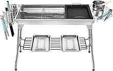 Barbecue Grill Stainless Steel Charcoal Grill