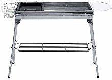 Barbecue Grill, Stainless Steel Folding BBQ Stove