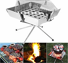 Barbecue Grill with Bag, Folding Charcoal Barbecue