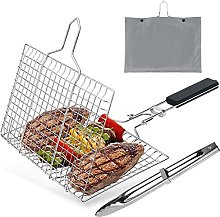 Barbecue Grilling Basket Grill Bbq Folding