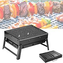 Barbecue Outdoor Fire Pit, Portable Folding Grill