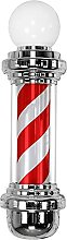 Barber Pole with Top Lamp 68CM Cylindrical LED