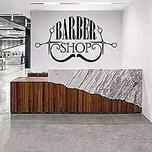 Barber Shop Wall Vinyl Sticker Removable Original