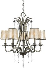 Barberry 5-Light Shaded Chandelier Astoria Grand