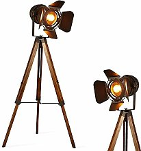 Barcelona LED Industrial Vintage Spotlight Floor