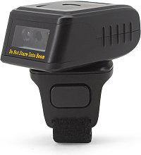 Barcode Scanner 1D/2D/QR Barcode Portable Finger