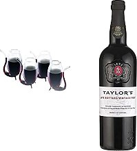 BarCraft BCPORT4PC Liqueur/Port Sippers in Gift