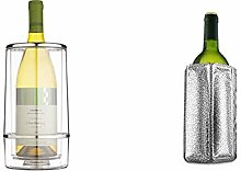 BarCraft Insulated Single Bottle Wine Cooler,