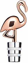 BarCraft Novelty Wine Bottle Stopper, Flamingo