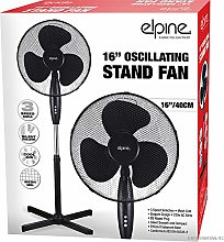"BARGAINS-GALORE NEW 16"" OSCILLATING STAND FAN"