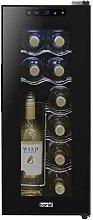 Baridi 12 Bottle Wine Cooler, Fridge, Touch