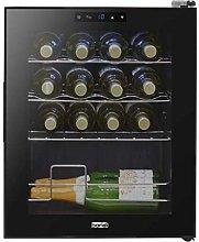 Baridi 16 Bottle Wine Cooler, Fridge, Touch