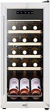 Baridi 18 Bottle Wine Cooler Fridge with Touch