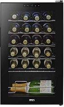 Baridi 24 Bottle Wine Cooler, Fridge, Touch