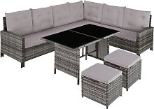 Barletta Rattan Garden Furniture Set, variant 1 -