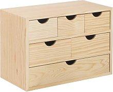 Barling Desk Organiser Set Natur Pur