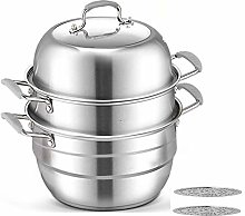 Barm Food Steamer Steamer With 304 Stainless Steel