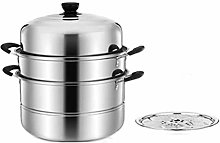 Barm Stainless Steel Steamer Induction Cooker