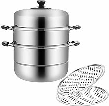 Barm Steamer Food Steamer Pan Set with 304