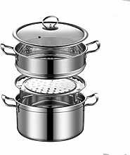 Barm Steamer Food Steamer Set with 304 Stainless