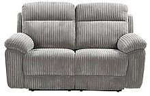 Baron Fabric 2 Seater Manual Recliner Sofa