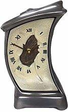 Baroque TW7P Unusual Timewarp Mantel Clock -