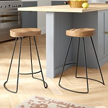 Barraute 63cm Bar Stool Union Rustic