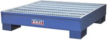 Barrel Bund 1200 x 1200 x 275mm - Sealey