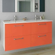 Barrister 1210mm Wall Hung Double Vanity Ebern