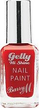 Barry M Cosmetics Gelly Nail Paint - Blood Orange