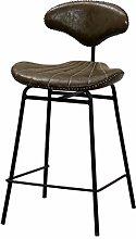 Barstool Furniture Industrial Metal Pu Leather Bar