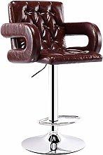 Barstools,backless swivel stool PU Leather Bar