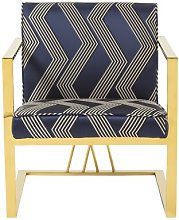 Barth Armchair Canora Grey Upholstery Colour: Blue