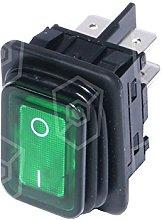 Bartscher Illuminated Rocker Switch Green For Deep