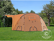 Base Camp, TentZing®, 10 persons, Orange/Dark Grey