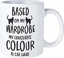 Based on My Wardrobe My Favourite Colour is Cat