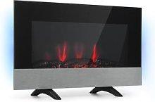 Basel Baseline, Electric Fireplace, 2000W, 2-Stage