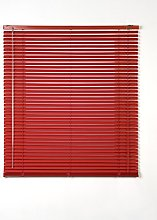 Basic blinds - Red Venetian curtain 75x3x175 cm red