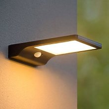 Basic LED solar outdoor wall light with sensor