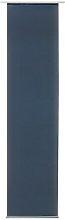Basic Sheer Door Curtain My Deco Colour: Dark Blue