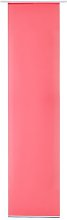 Basic Sheer Door Curtain My Deco Colour: Deep Pink