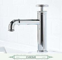 Basin Faucet Retro Style Matte Black Bathroom