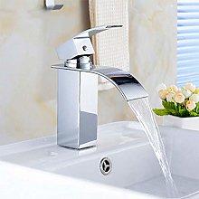 Basin Faucet Waterfall Black Higher Basin Wash