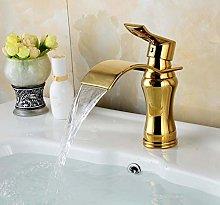 Basin Faucet Waterfall Faucets Hot Cold Mixer