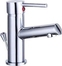 Basin Mixer Tap LAURANA Chrome - Silver - Schütte