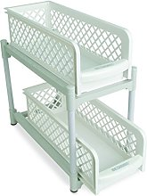 "BASKET DRAWERS 15"" Versatile 2 Tier Portable"