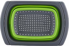 Basket Durable Safe Foldable Retractable Draining