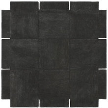 Basket Rug - / 180 x 180 cm - Hand-tufted by