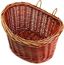 Basket Wicker Front Bag MTB Bike Storage