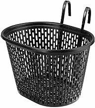 Basket with Hooks Black, Front, Removable, Kids
